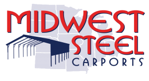 Midwest Steel Carports offers metal carports for sale in the Midwest. We also build custom garages, workshops and barns.