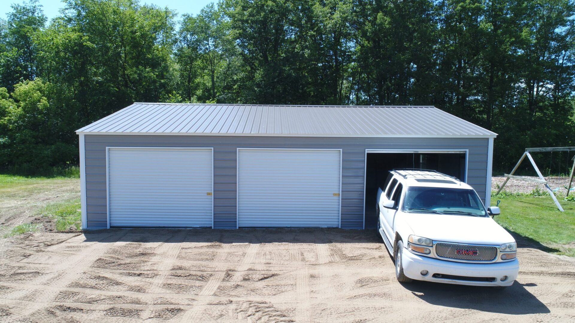 30x40x9 Side Entry Garage in Eaton Rapids, Michigan