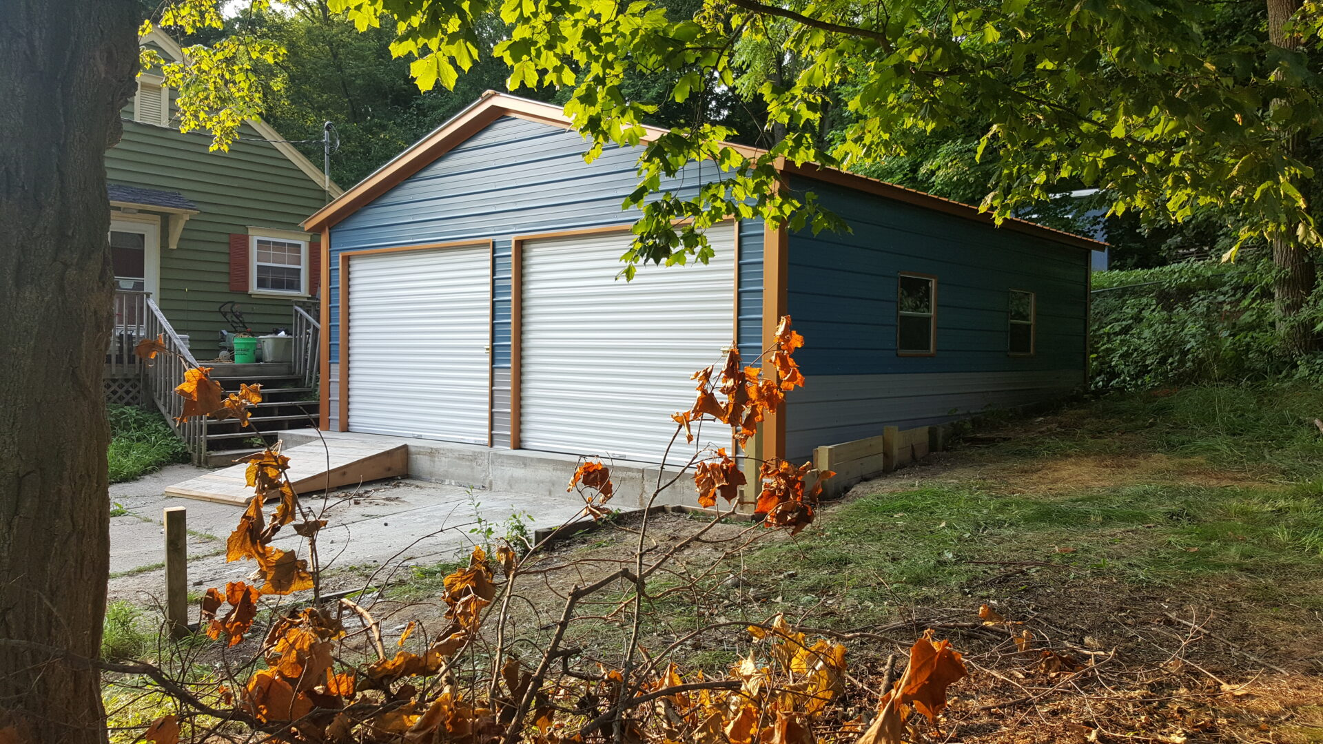 22x25x8 Garage in Manchester, WI