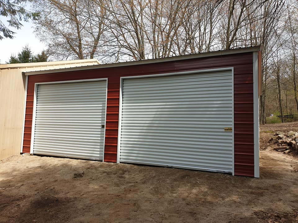 24x25x9 Side-Entry Garage in Cambria, WI