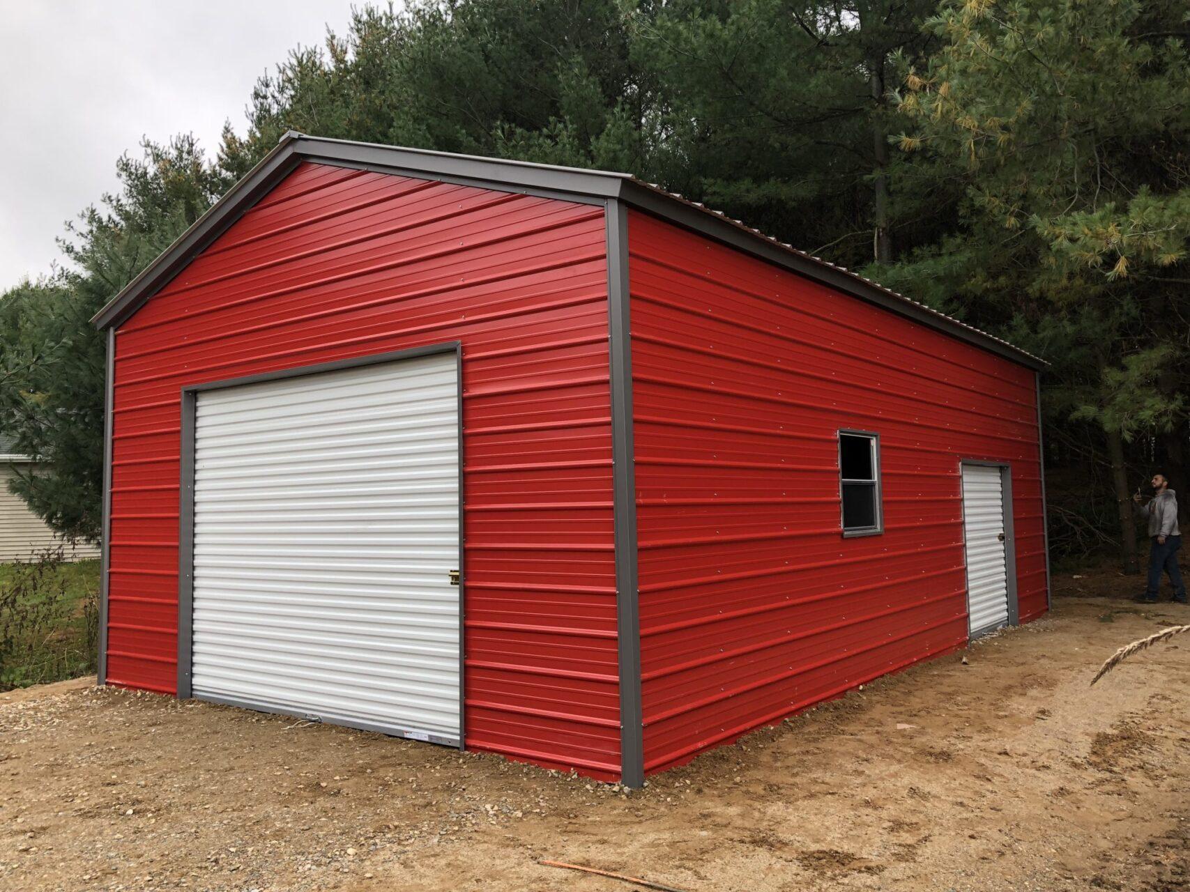 18x30x10 Vertical Storage Building