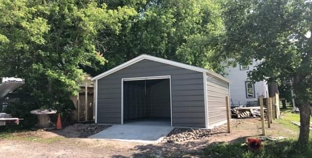 18′ x 20′ x 7′ Shed in Allenville, MI