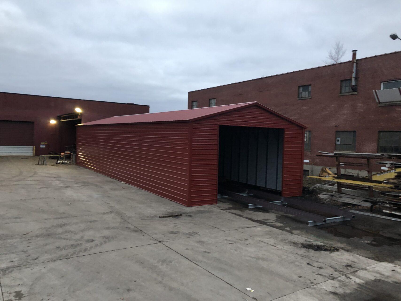 24x50x9 Metal Utility Building