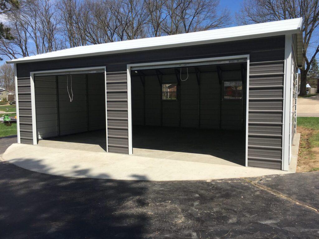 20x25x9 Side-Entry Garage in Baraboo, WI