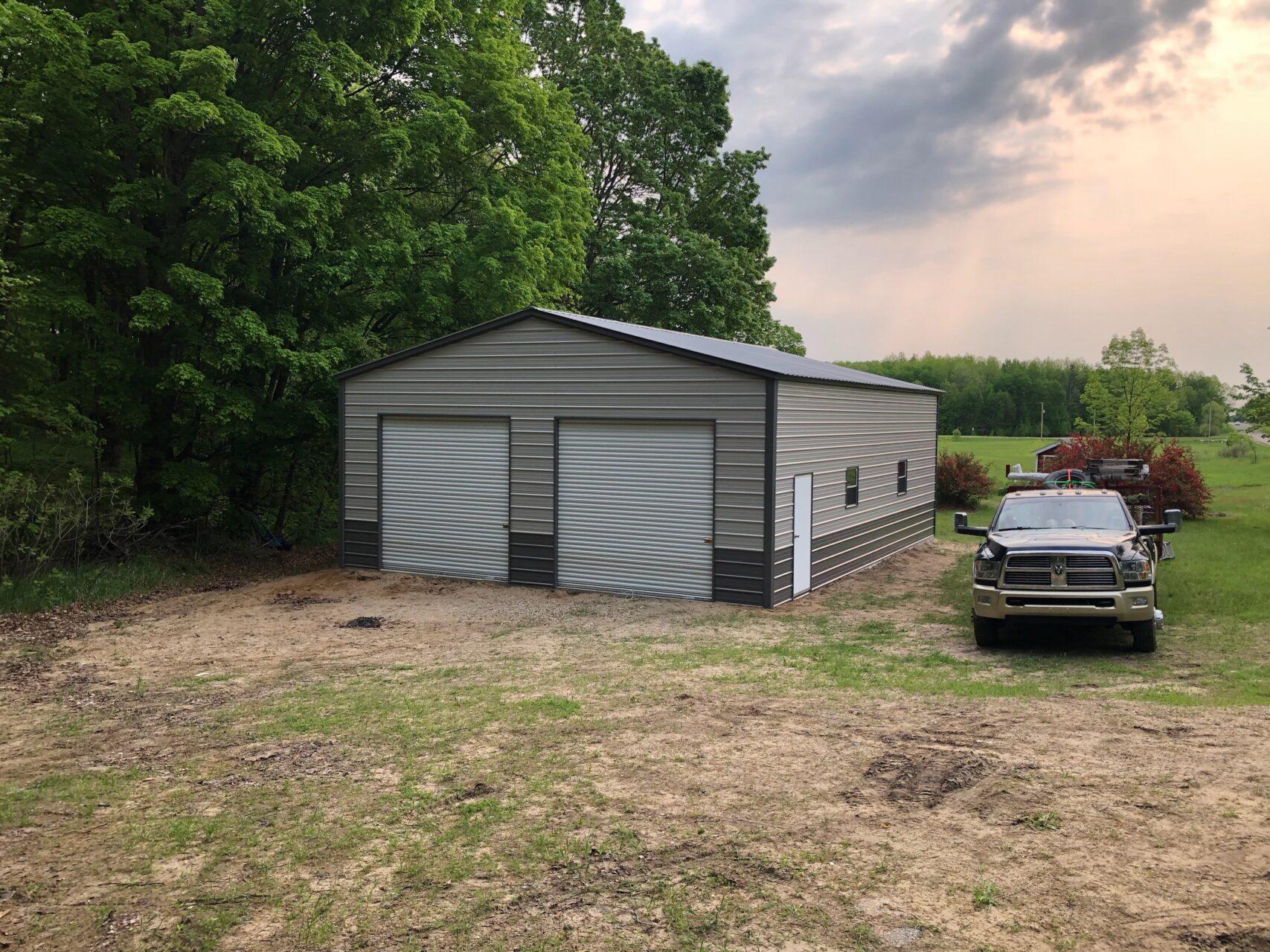 30x40x12 Steel Garage in Fostoria, OH