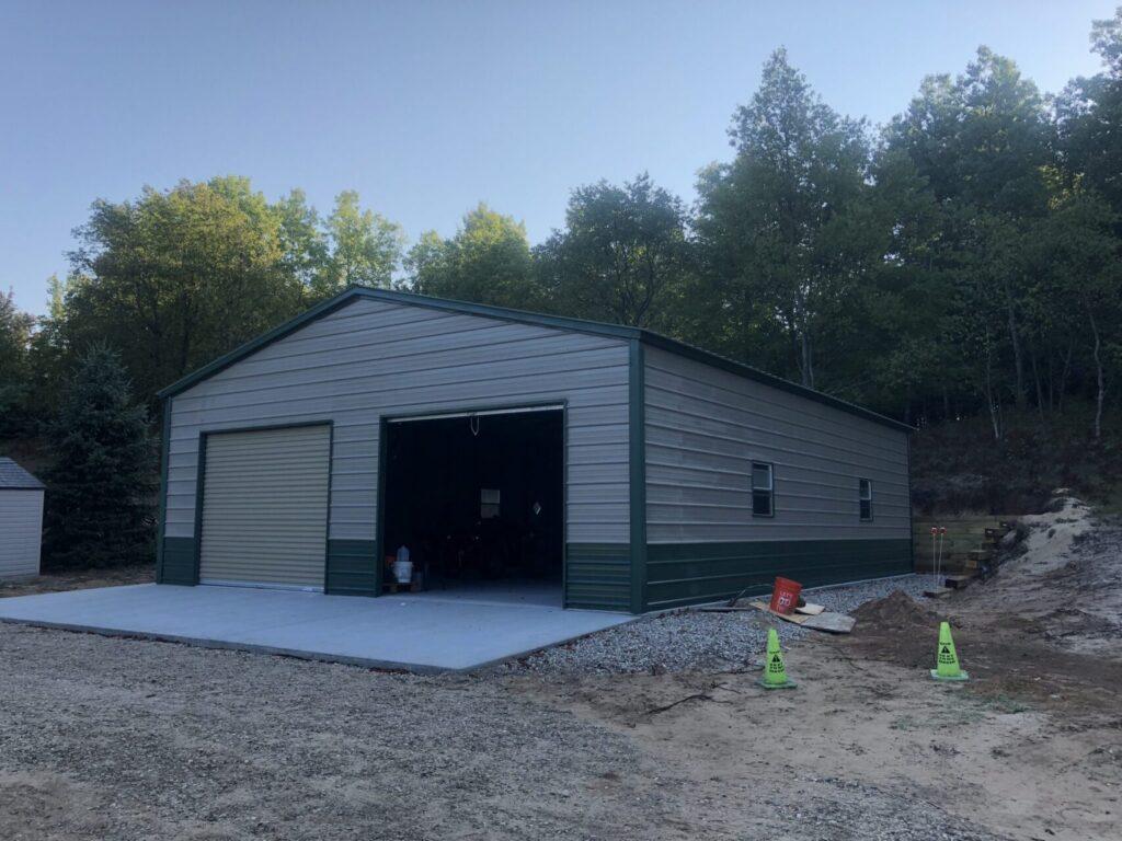26x30x9 A-Frame Vertical Storage Garage