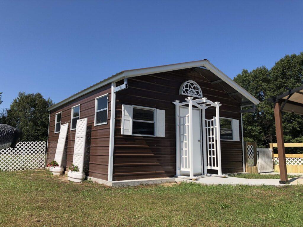 18x20x8 Recreational Metal Building