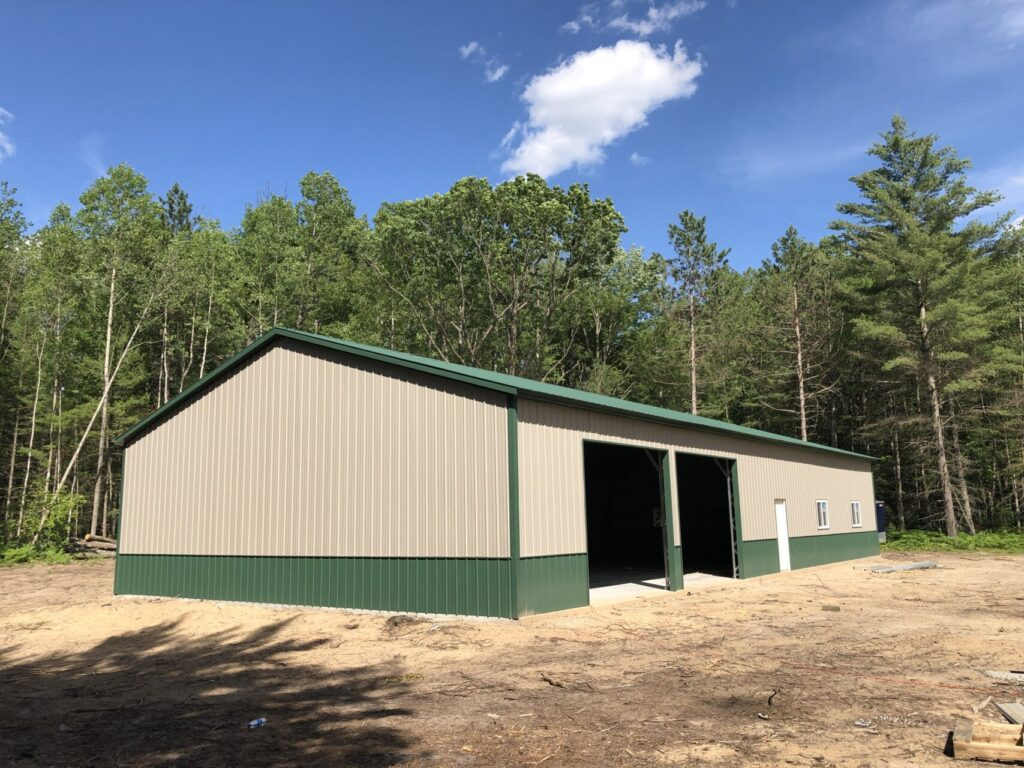 40x80x12 All Steel Workshop in Madison, WI