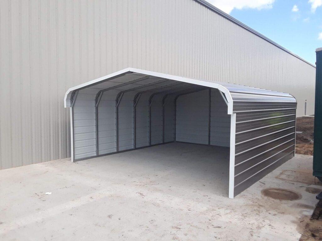 20x21x8 Metal Storage Carport in Ludington,Mi