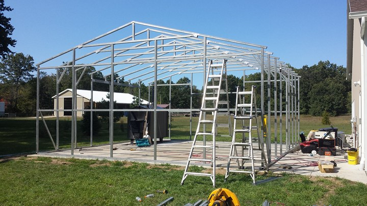 Recent Projects   Midwest Steel Carports