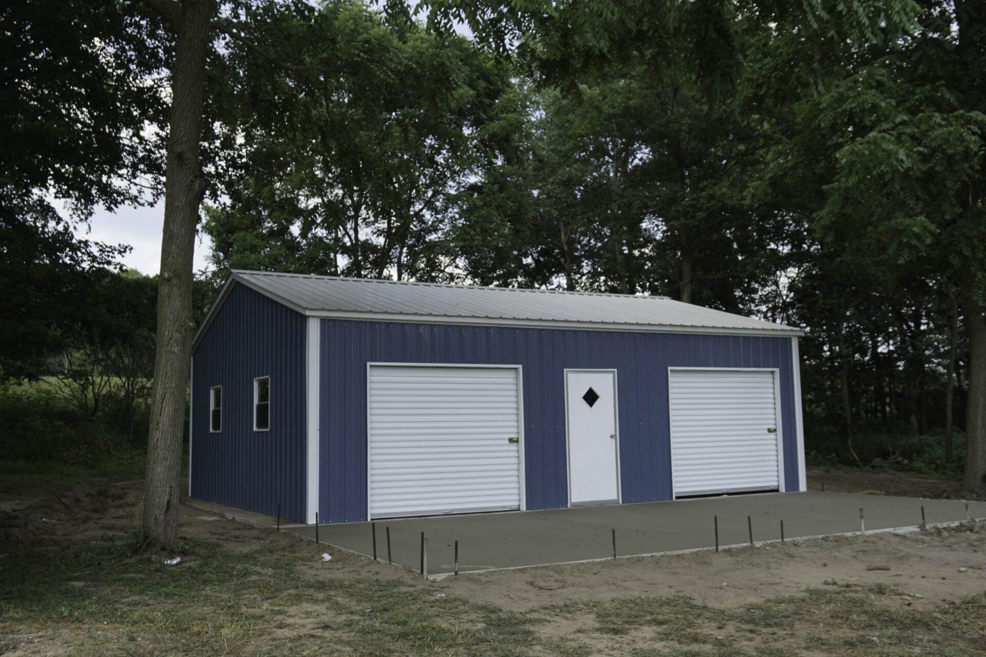 Steel Building in Sparta, Michigan