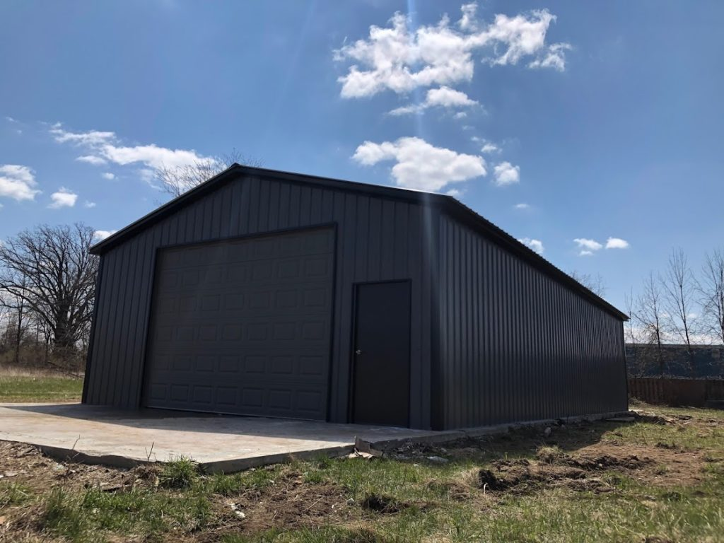 26x50x10 Steel Workshop in Owosso, MI