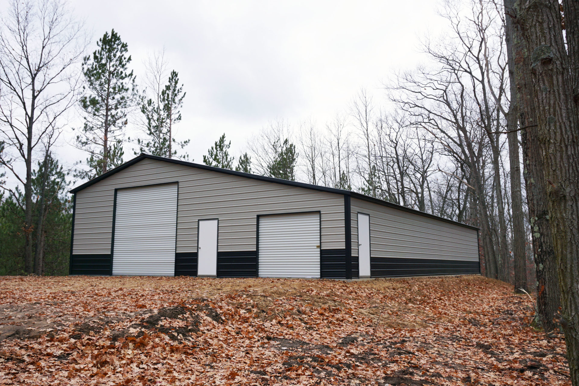 45x60x12 Steel Workshop in Goshen, IN