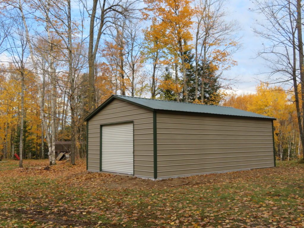 20x30x9 Steel Shed in Findlay, OH
