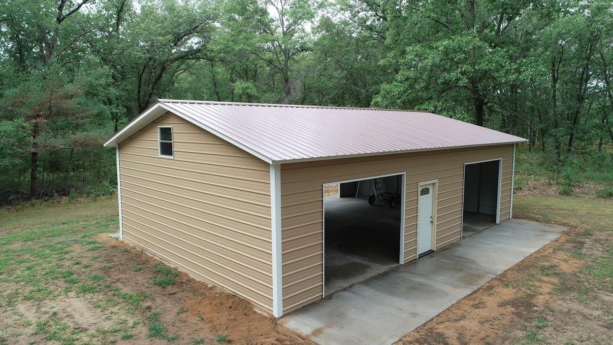 26x40x10 Steel Garage