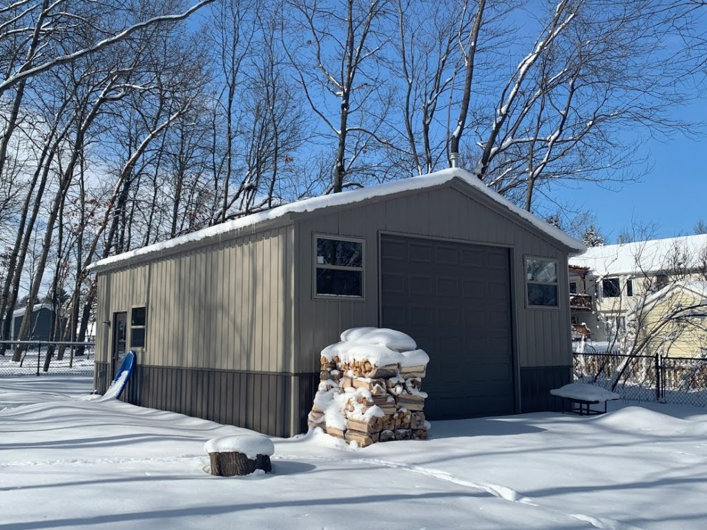 20x30x10 Steel Garage in Comstock Park, MI