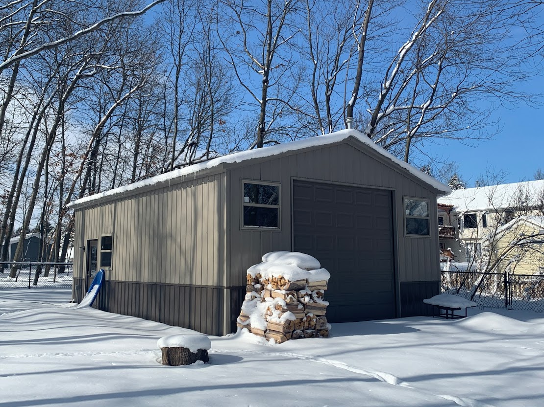 20x30x10 Steel Garage in Comstock Park, MI