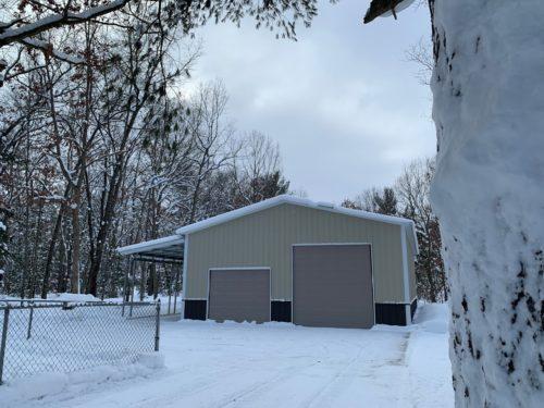 30x50x12 Steel Garage