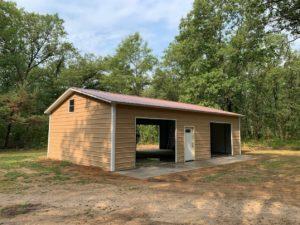 Side-entry-garage