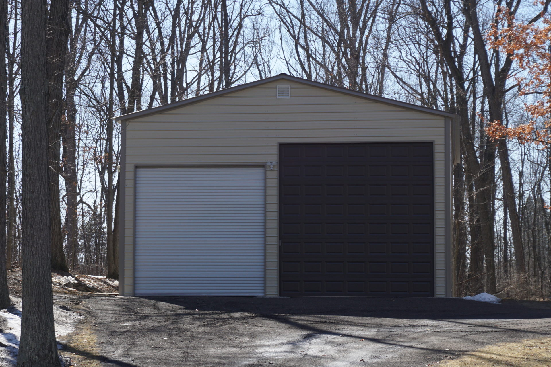 30x45x16 Steel Building in Saline, MI