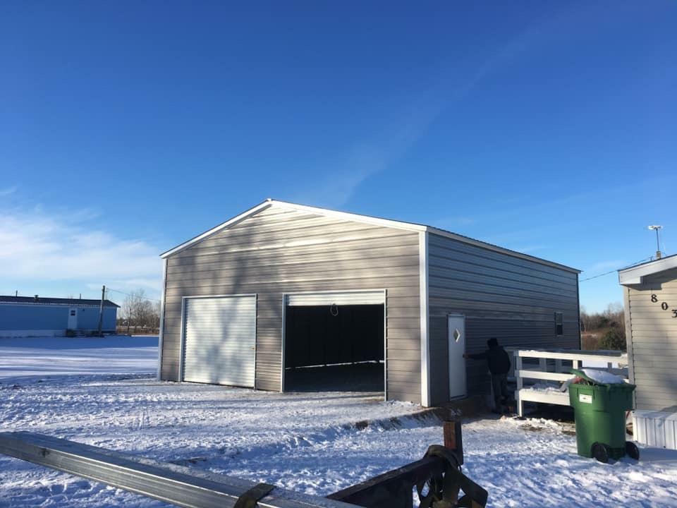 Steel-Building-Winter-Installation