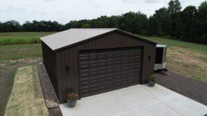 Garage with Overhead Door